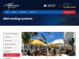 Easy to install misting systems