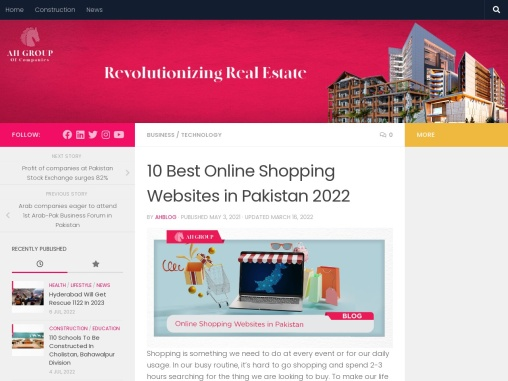 7 Best Online Shopping Websites in Pakistan 2021