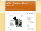 All Pro Solution; One Stop Destination for All Your CD DVD Blu-ray Duplicator