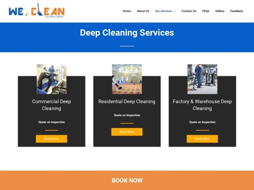 Commercial & Residential Deep Cleaning Services Delhi NCR | Office Dry Cleaning