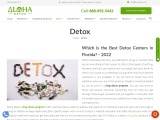 Which is the Best Detox Centers in Florida? – 2021