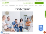 Family Therapy | Family Detox | Family Therapy for Drug and Alcohol Abuse | Aloha Detox