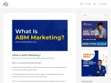 What is an Account-Based Marketing Strategy?