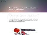 Road Marking Machine | Wood Sander Dealers In Faridabad