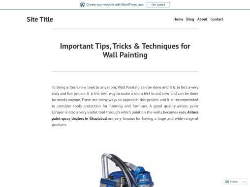 Important Tips, Tricks & Techniques for Wall Painting