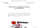 Helpful Tips for making Drywall Sanding easy and Effective