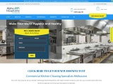 Commercial Kitchen Cleaning Melbourne, Exhaust Canopy Cleaning