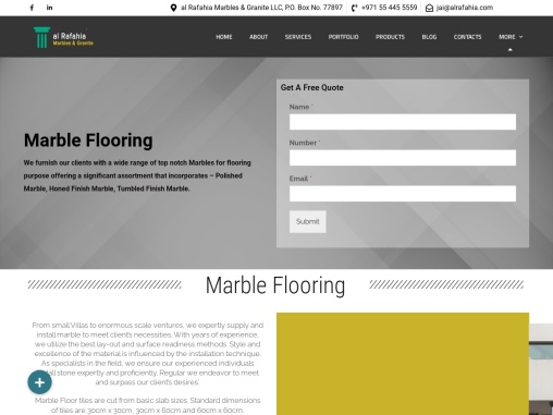 Marble Fixing Services Sharjah