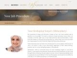 Rhinoplasty in Dubai Nose Reshaping Surgery (Rhinoplasty)