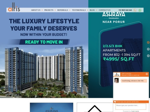 Luxury Apartments in Mangadu, ECR & Kotturpuram