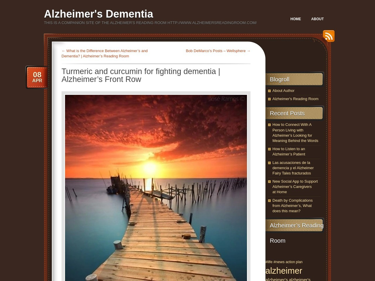 Turmeric and curcumin for fighting dementia | Alzheimer's …