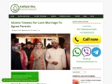 Islamic Taweez For Love Marriage To Agree Parents