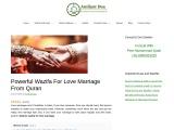Wazifa For Love Marriage In Urdu From Quran