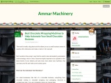 How Can You Automate Your Business? – Ammar Machinery