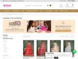 Buy Lehenga Cholis Online In India | Amrut The Fashion Icon