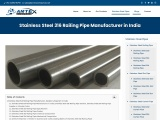 Stainless Steel 316 Railing Pipe Manufacturer in India