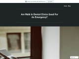 Are Walk In Dental Clinics Good For An Emergency?
