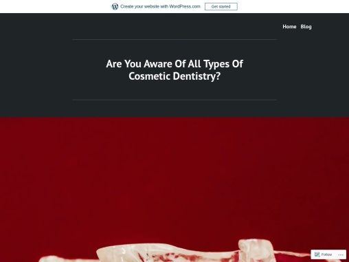 Are You Aware Of All Types Of Cosmetic Dentistry?