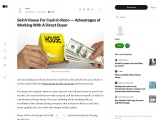 Sell A House For Cash In Reno — Advantages of Working With A Direct Buyer