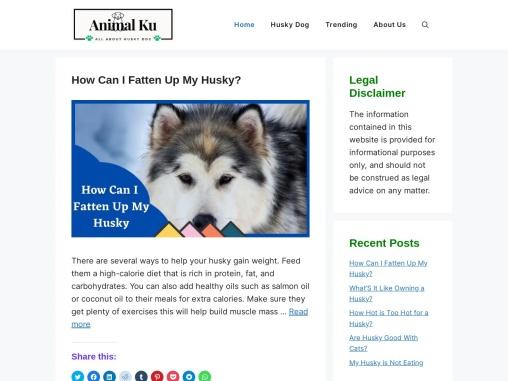 Animalku Saving Animals, Serving Community.