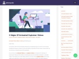 5 Edges Of Animated Explainer Videos