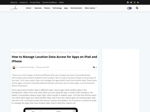 How to Manage Location Data Access for Apps on iPad and iPhone