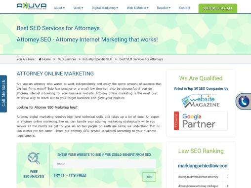 Attorney SEO Service | Attorney Internet Marketing | Attorney PPC Advertising