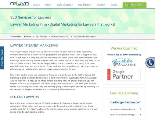 SEO for Lawyers | Lawyer Marketing Firm | Digital Marketing for Lawyers