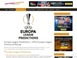 Europa League Predictions, Fixtures and Results