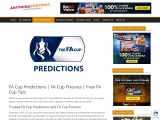 FA Cup Predictions and FA Cup Fixtures Get Free FA Cup Tips