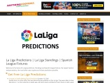 La Liga Predictions and La Liga Standings