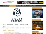 Ligue 1 Predictions Get French Ligue Fixtures and Result