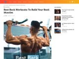 Best Back Workouts: To Build Your Back Muscles