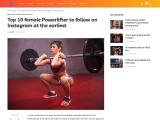 Top 10 female Powerlifter to follow on Instagram at the earliest