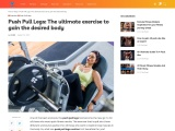 Push Pull Legs: The ultimate exercise to gain the desired body