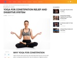 YOGA FOR CONSTIPATION RELIEF AND DIGESTIVE SYSTEM
