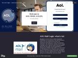 Getting into or signing in to your AOL account