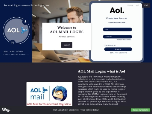 AOL is one of the most frequently used email services