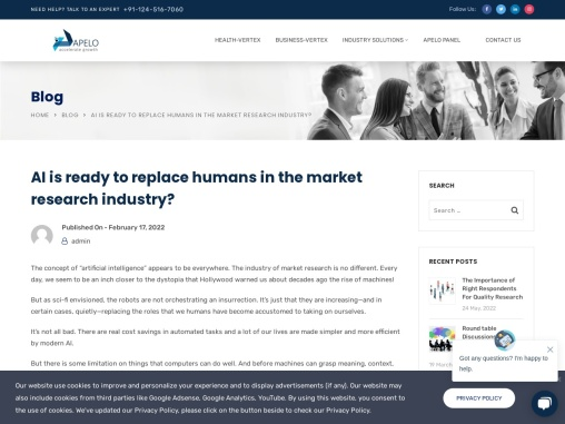 AI is ready to replace humans in the market research industry?