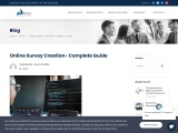 Online Survey Creation- Complete Guide