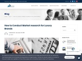 Market research consulting Company