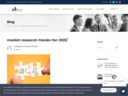 Market Statistics- Factual Storytelling