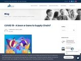 COVID 19- A boon or bane to Supply Chain?