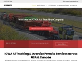 Heavy Haul Trucking and Oversize Permits Services In IOWA