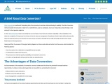 Data Conversion: Apex Solutions Limited