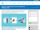 Significance of Digital Prepress Services: Apex Solutions Limited