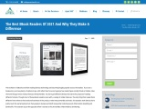The Best eBook Readers Of 2021 And Why They Make A Difference
