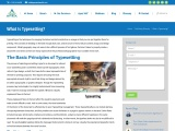 What is Typesetting: Apex Solutions Limited