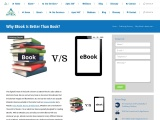 Why eBook is better than Book: Apex Solutions Limited