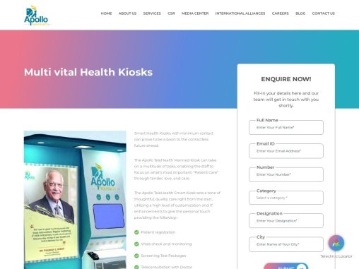 Smart Health Kiosks for Corporates